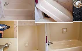 replace or repair a mobile home bathtub