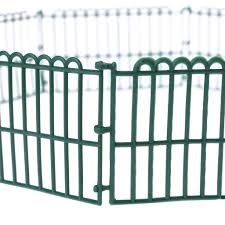 Aowa 10pcs Farm Animals Fence Toys Military Fence Simulation Model Toy For Children