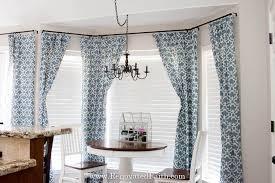 bay window curtain rods renovated faith