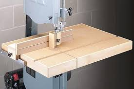 A Perfect Band Saw Table With A Simple But Dead Accurate Little Fence Bandsaw Jet Woodworking Tools Woodworking Saws