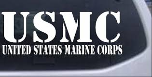 Usmc United States Marine Corps Car Or Truck Window Laptop Decal Sticker 14x5 1 Ebay