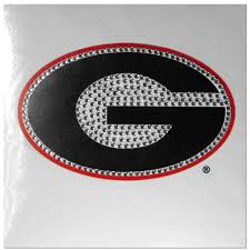Ncaa Georgia Bulldogs Vinyl Bling Decal