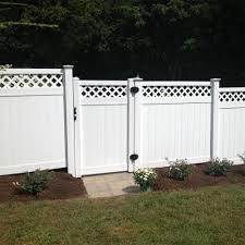 8 Ft Vinyl Fence Gate