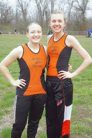 Two Lady Jackets track stars compete at Top Times meet