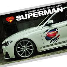 Superman Marvel Agents Of Shield Car Auto Ipad Motor Logo Scratch Decal Sticker Ebay