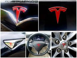 Model S Logo Decal Bundle Ev Wraps