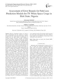Spatial deployment scenario of TV band devices (TVBDs) (see online ...