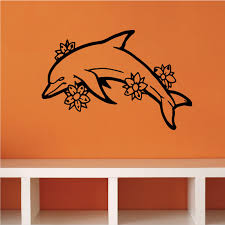 Dolphins Wall Decal Vinyl Decal Car Decal Dc005