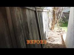 How To Fix A Leaning Fence Backyard Fences Pool Landscaping Fence Post Repair