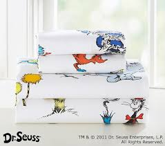 Dr Seuss Sheeting Pottery Barn Kids