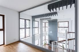mirror walls professionally installed