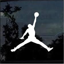 Air Jordan Jumpman Basketball Car Window Decal Sticker Custom Sticker Shop