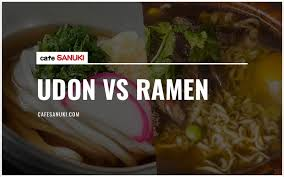 difference between udon vs ramen
