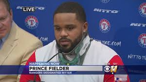 Prince Fielder Bids Tearful Farewell - YouTube