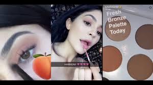 kylie jenner makeup snapchat saubhaya