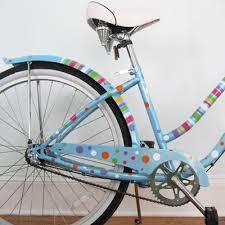 Polka Dots Stripes Bike Bicycle Beach Cruiser Decals Stickers Graphics Paint Bike Bicycle Beach Cruiser Bicycle