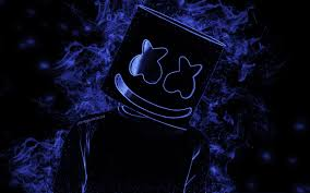 تحميل خلفيات Marshmello الفنون الإبداعية أمريكا دي جي خلفية