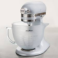 kitchenaid artisan 4 8 litre frosted