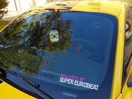 Heard Y All Like Anime Themed Car Decals Album On Imgur