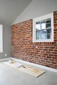 brick wall and unify a choppy room