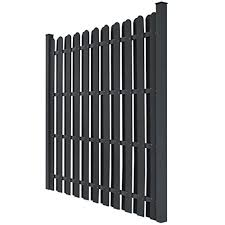 Vidaxl Fence Panels W Posts Wpc Square G Buy Online In Aruba At Desertcart