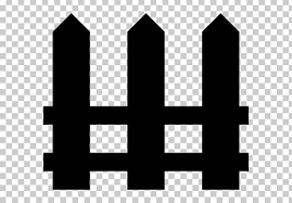 Computer Icons Fence Building Garden Png Clipart Angle Black Black And White Building Computer Icons Free