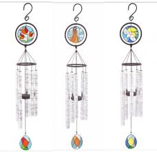 carson stained glass wind chimes
