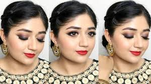 festive indian makeup tutorial with l