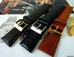 genuine lizard strap rolex 20mm or 19mm