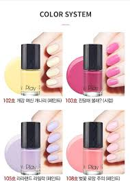 etude house play nail new yesstyle