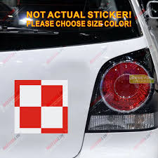 Polish Air Force Decal Sticker Poland Decal Sticker Car Vinyl Reflective Glossy Pick Size Decal Sticker Car Vinylsticker Vinyl Aliexpress