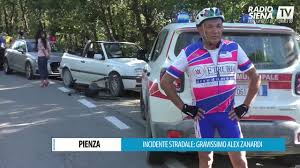 PIENZA INCIDENTE STRADALE GRAVISSIMO ALEX ZANARDI - YouTube