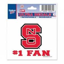 North Carolina State University Stickers Decals Bumper Stickers