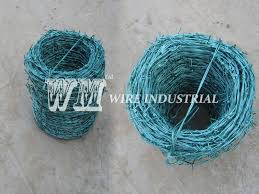 Pvc Barbed Wire Fence Installed By Tools Barbed Wire Barbed Wire Fencing Wire