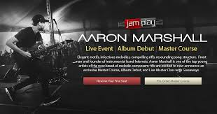 Aaron Marshall (Intervals) Guitar Lessons   Master Course