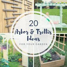 20 diy arbor and trellis ideas for your