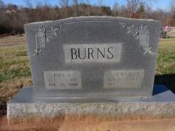 Paul Addie Burns (1911-1999) - Find A Grave Memorial