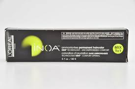 l inoa permanent hair color 2 1