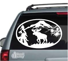 Moose Hunting Car Decals Stickers Decal Junky