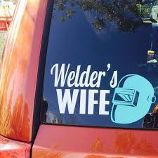 2 Proud Wife Of A Pipeliner Decal Stickers For Car Window Bumper Laptop Truck