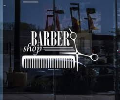 Window Vinyl Decals Tagged Barber Shop Wallstickers4you