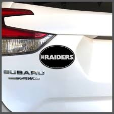 Nfl Oakland Raiders Raiders Decal Or Car Magnet