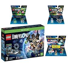 Lego Dimensions Ghostbusters Starter Pack Peter Venkman Level Pack ...