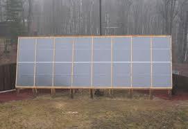 large diy solar e heating system