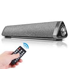 Loa Bluetooth 5.0 Không Dây Di Động Loa Tivi Soundbar Rạp Hát Tại Nhà 3D  Hifi Stereo Âm Thanh Thanh Điều Khiển Từ Xa Cho TV Latop máy Tính|