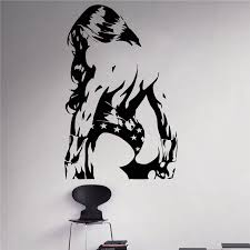 Creative Diy Wall Art Home Decoration Wonder Woman Wall Decal Superhero Vinyl Removable Sticker Living Room Wall Stickers Stickers Living Wall Stickerliving Room Wall Stickers Aliexpress