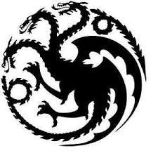 Game Of Thrones Dragon Vinyl Decal Sticker Car Window Wall House Targaryen Crest Ebay