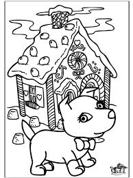 Kerst Hond 1 Kleurplaten Kerst