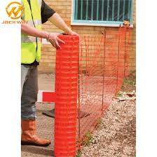 China Anti Uv Lightweight Plastic Temporary Fencing Rolls For Restricted Area China Safety Fence Plastic Safety Fence