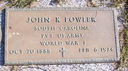 John Kelly Fowler (1888-1974) - Find A Grave Memorial